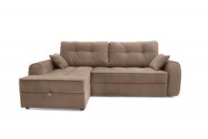 Двуспальный диван Кайман Amigo Latte Вид спереди