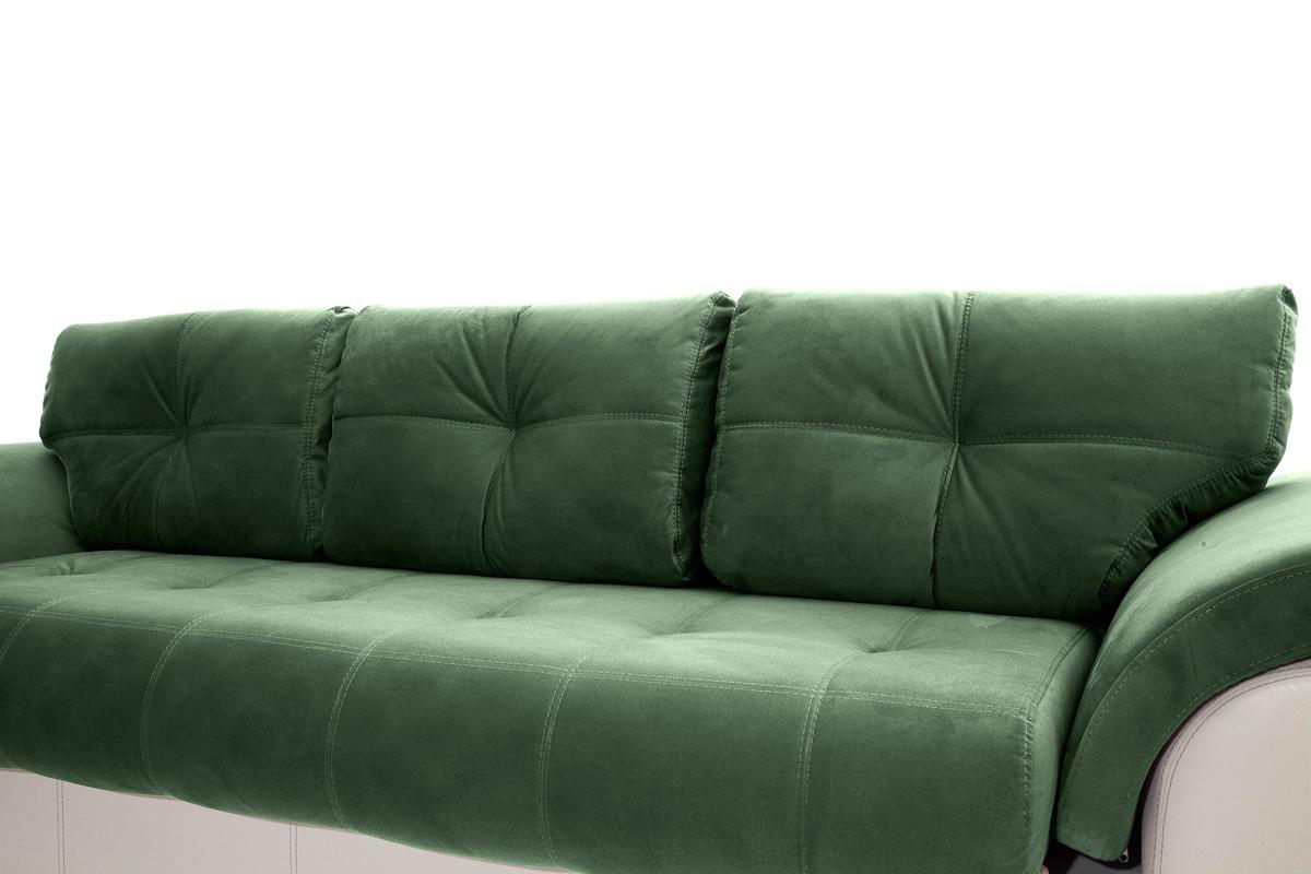 Двуспальный диван Соренто Amigo Green + Sontex Beige Подушки