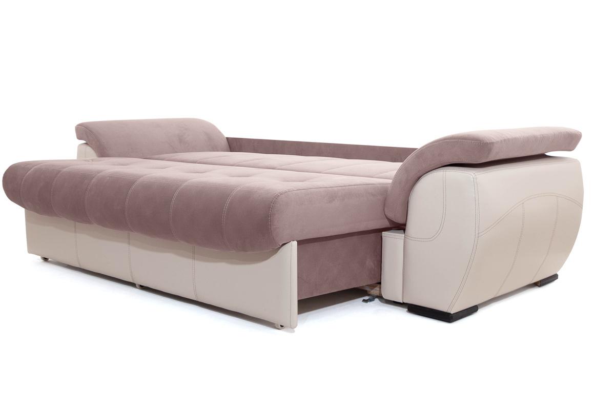 Прямой диван Соренто Amigo Java + Sontex Beige Спальное место