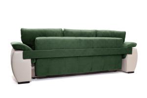 Двуспальный диван Соренто Amigo Green + Sontex Beige Вид сзади