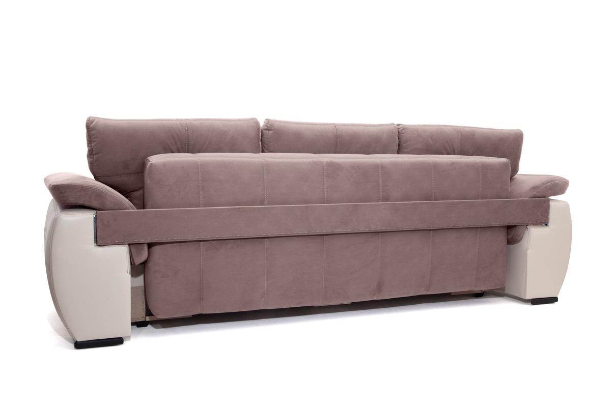 Прямой диван Соренто Amigo Java + Sontex Beige Вид сзади