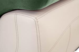 Двуспальный диван Соренто Amigo Green + Sontex Beige Текстура ткани