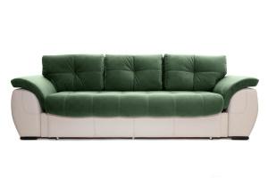 Двуспальный диван Соренто Amigo Green + Sontex Beige Вид спереди