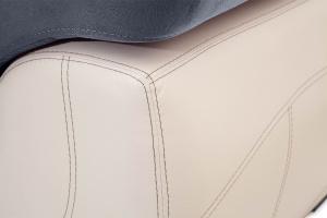 Двуспальный диван Соренто Amigo Navy + Sontex Beige Текстура ткани