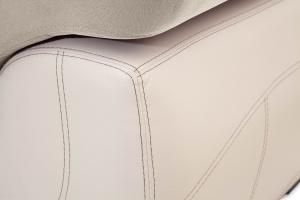Прямой диван еврокнижка Соренто Amigo Cream + Sontex Beige Текстура ткани