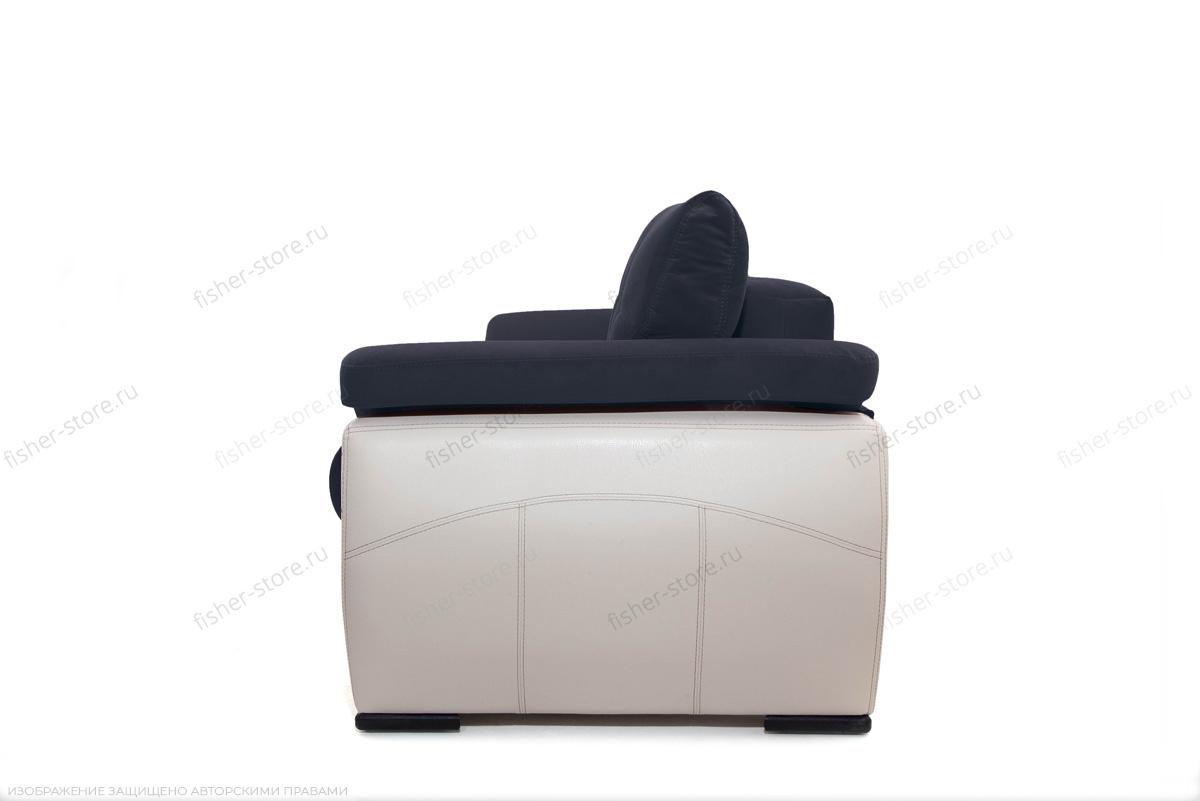 Двуспальный диван Соренто Amigo Navy + Sontex Beige Вид сбоку