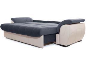 Двуспальный диван Соренто Amigo Navy + Sontex Beige Спальное место