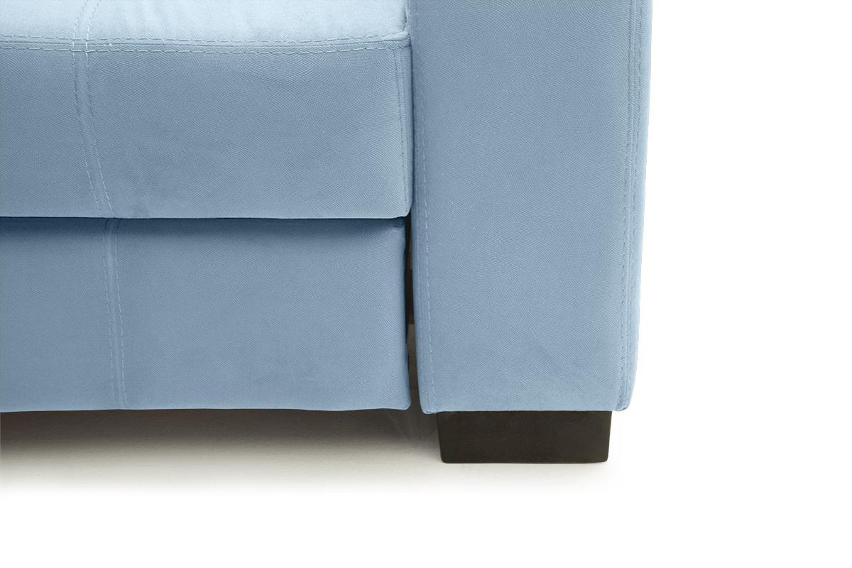 Прямой диван Берлин-2 Amigo Blue Ножки