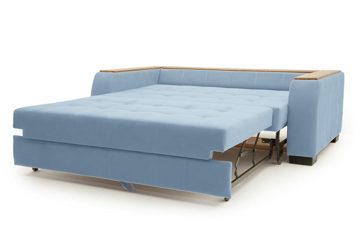 Прямой диван Берлин-2 Amigo Blue Спальное место