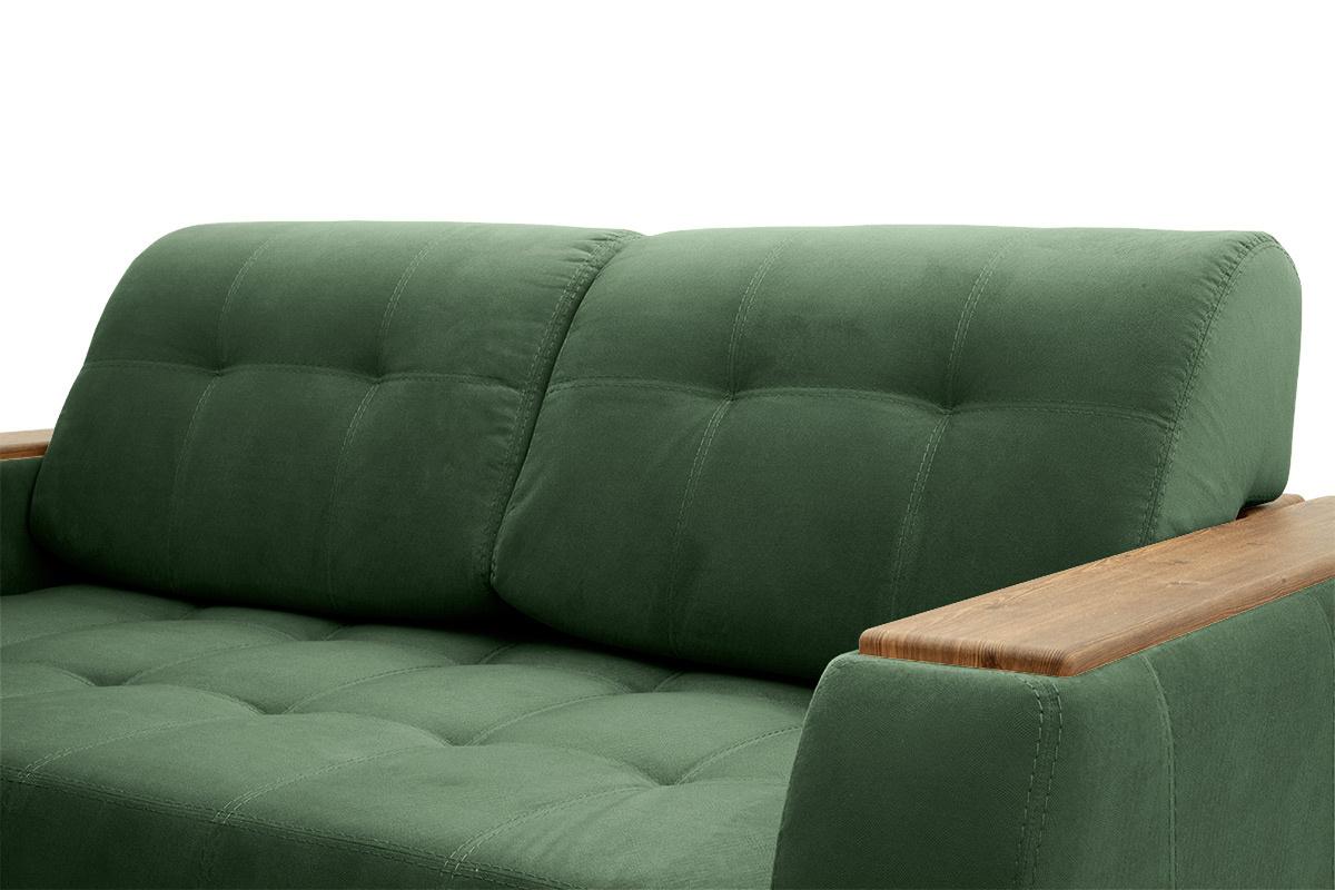 Прямой диван Берлин-2 Amigo Green Подушки