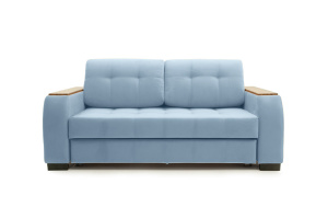 Прямой диван Берлин-2 Amigo Blue Вид спереди