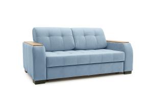 Прямой диван Берлин-2 Amigo Blue Вид по диагонали