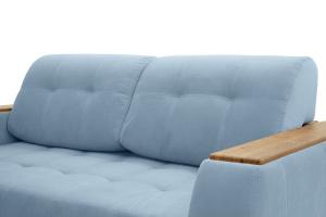 Прямой диван Берлин-2 Amigo Blue Подушки