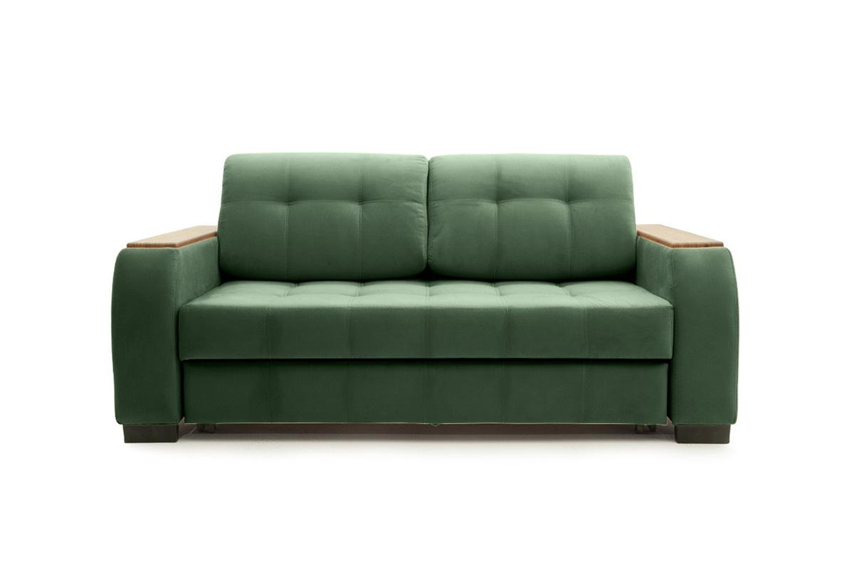 Прямой диван Берлин-2 Amigo Green Вид спереди