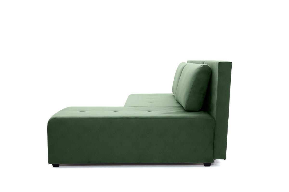 Прямой диван еврокнижка Сава Amigo Green Вид сбоку