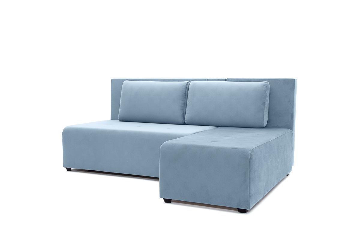 Угловой диван Сава Amigo Blue Вид по диагонали