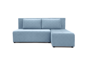Угловой диван Сава Amigo Blue Вид спереди