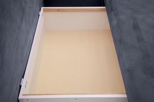 Прямой диван еврокнижка Сава Amigo Navy Ящик для белья