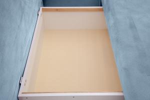Угловой диван Сава Amigo Blue Ящик для белья