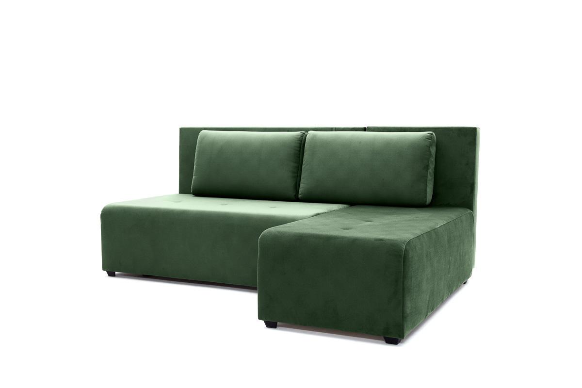 Прямой диван еврокнижка Сава Amigo Green Вид по диагонали