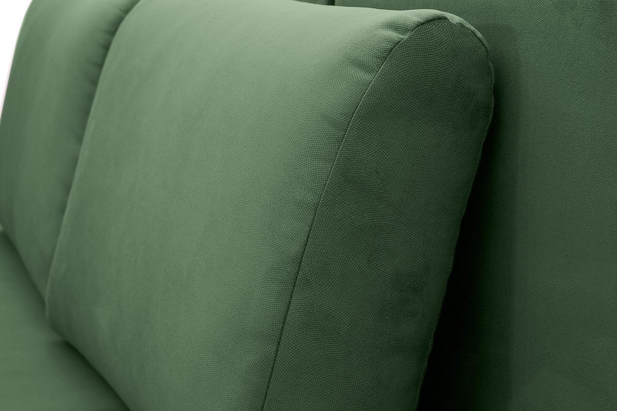 Прямой диван еврокнижка Сава Amigo Green Текстура ткани