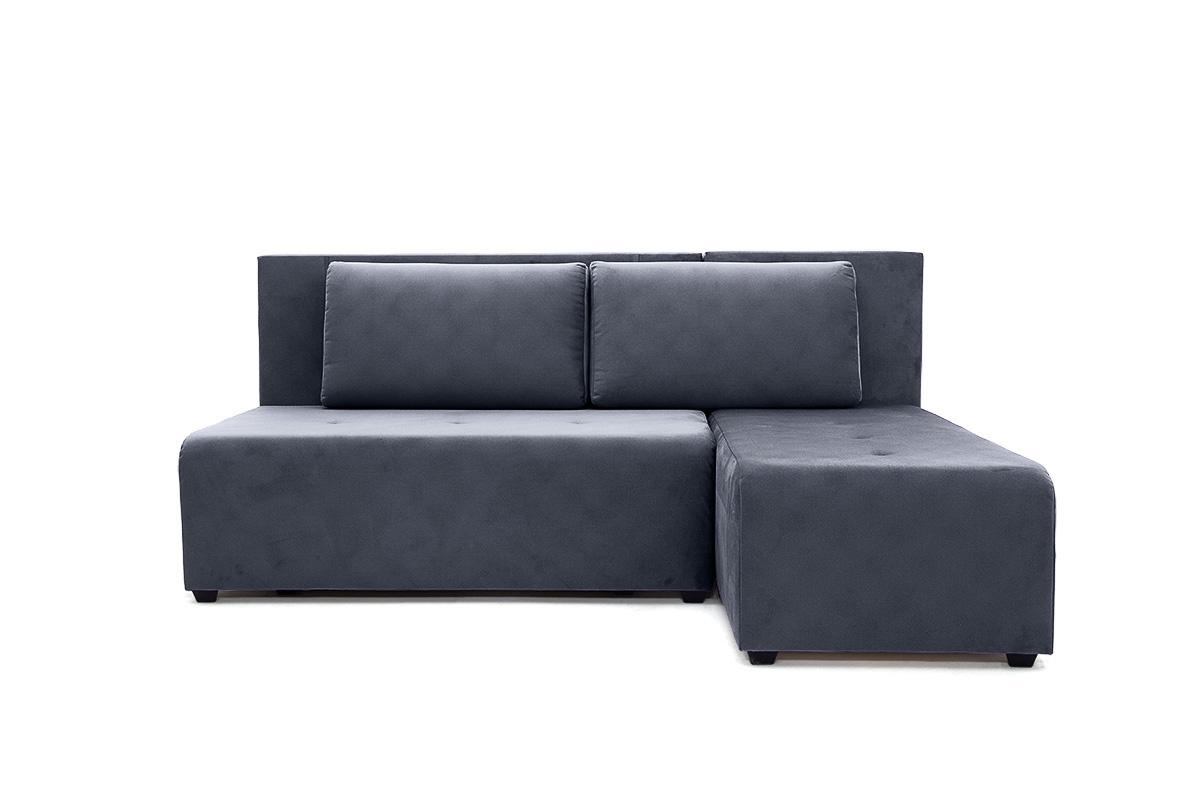 Прямой диван еврокнижка Сава Amigo Navy Вид спереди