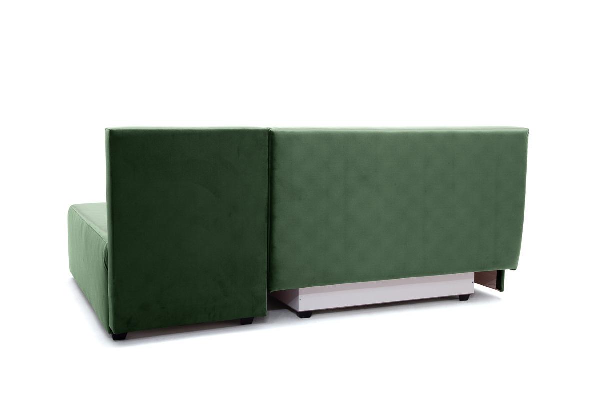 Прямой диван еврокнижка Сава Amigo Green Вид сзади
