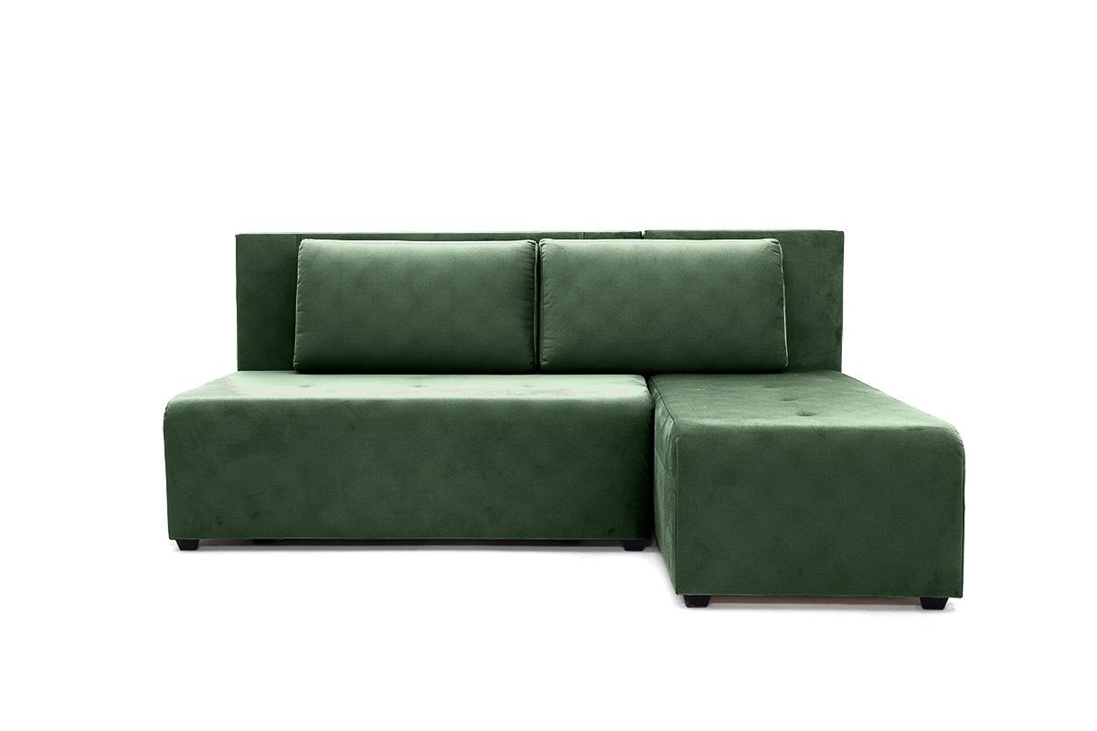 Прямой диван еврокнижка Сава Amigo Green Вид спереди