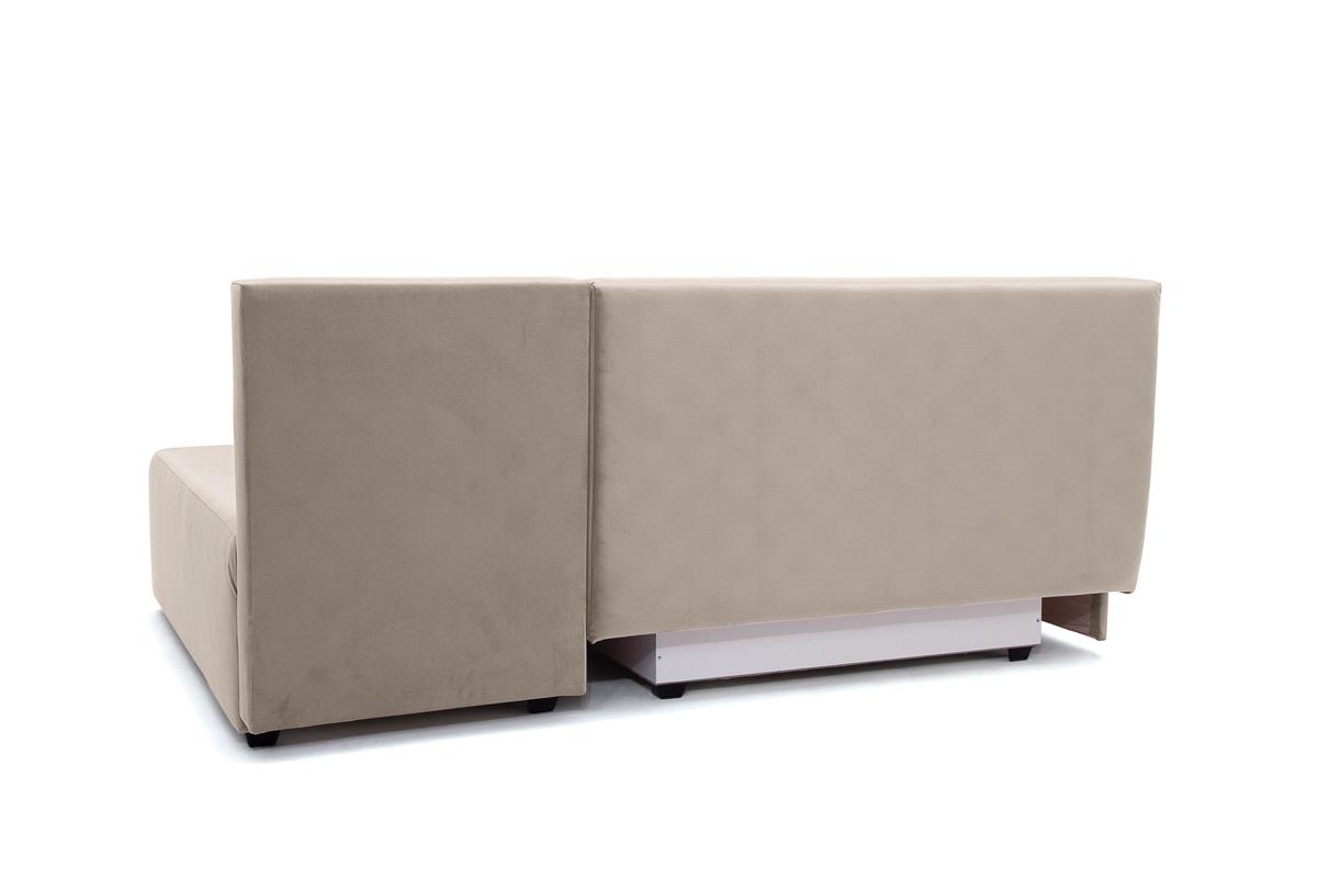 Прямой диван еврокнижка Сава Amigo Cream Вид сзади