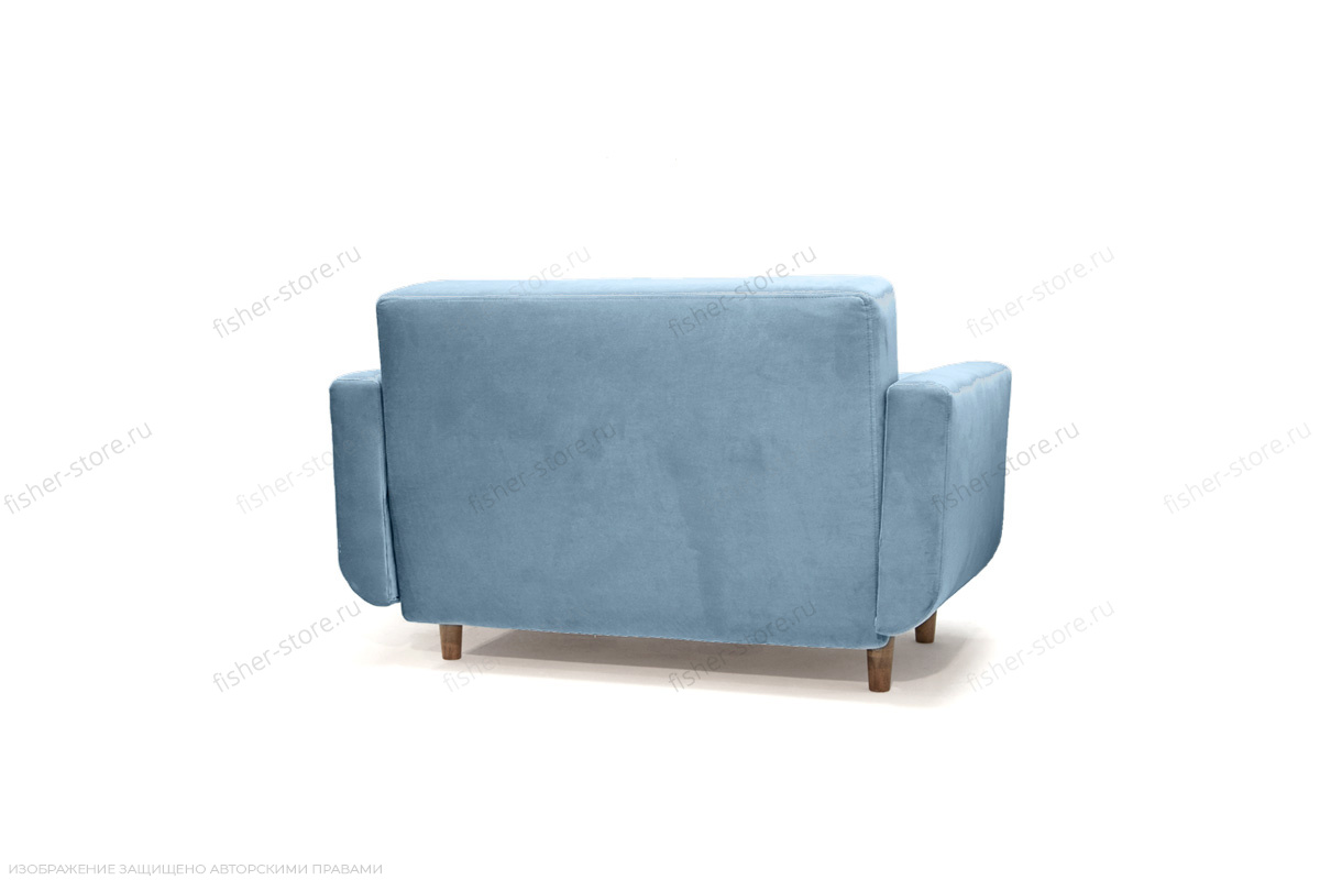Диван Шуга Amigo Blue Вид сзади