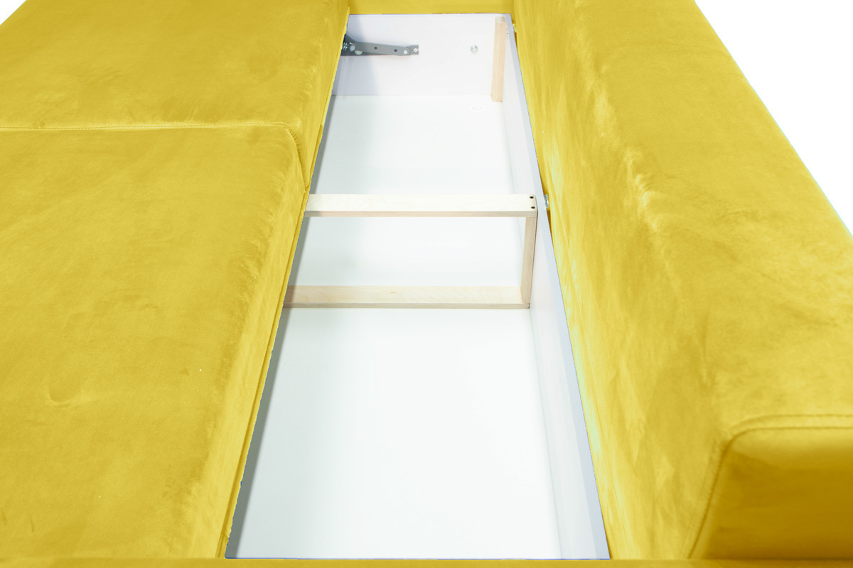 Диван Неаполь Бонита Yellow (16) Ящик для белья