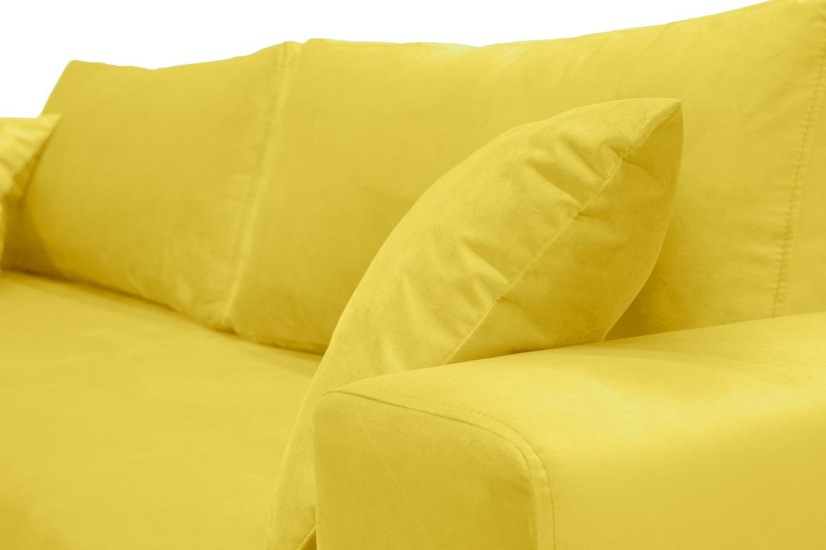 Диван Неаполь Бонита Yellow (16) Текстура ткани
