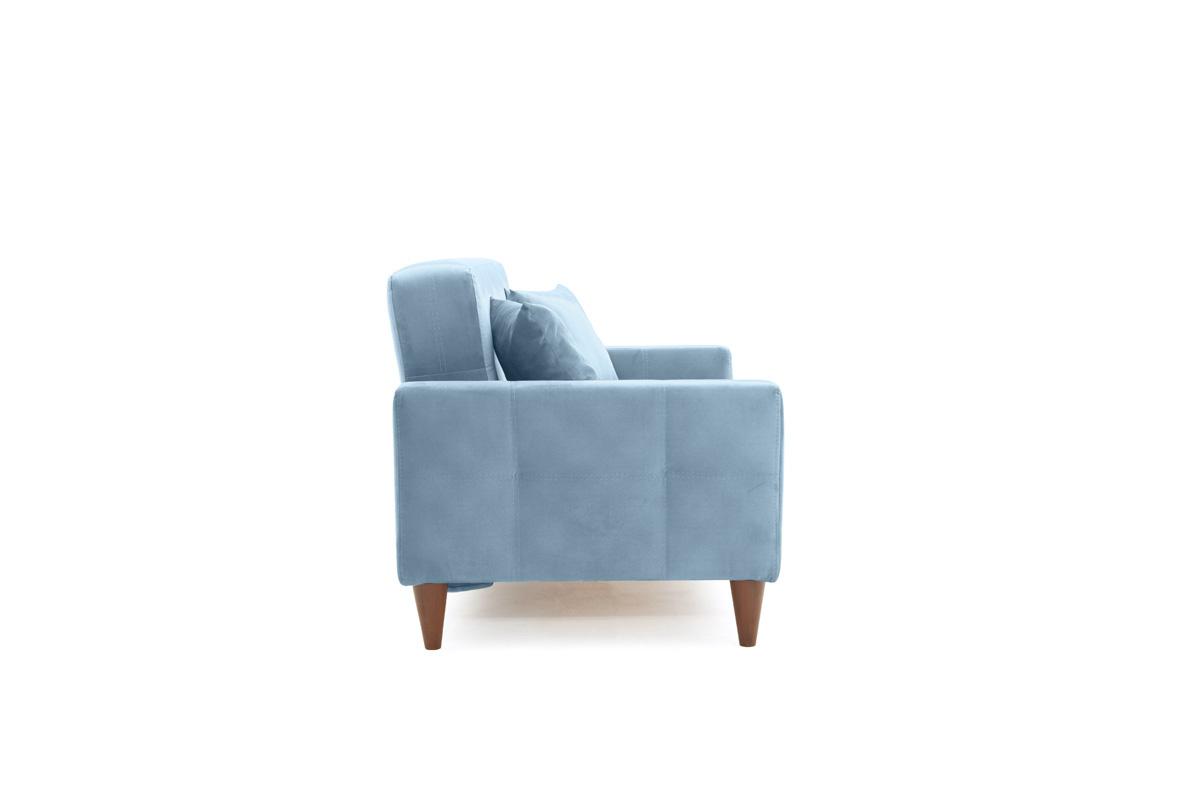 Диван Этро люкс с опорой №5 Amigo Blue Вид сбоку