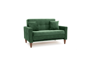 Диван Этро люкс с опорой №5 Amigo Green Вид по диагонали