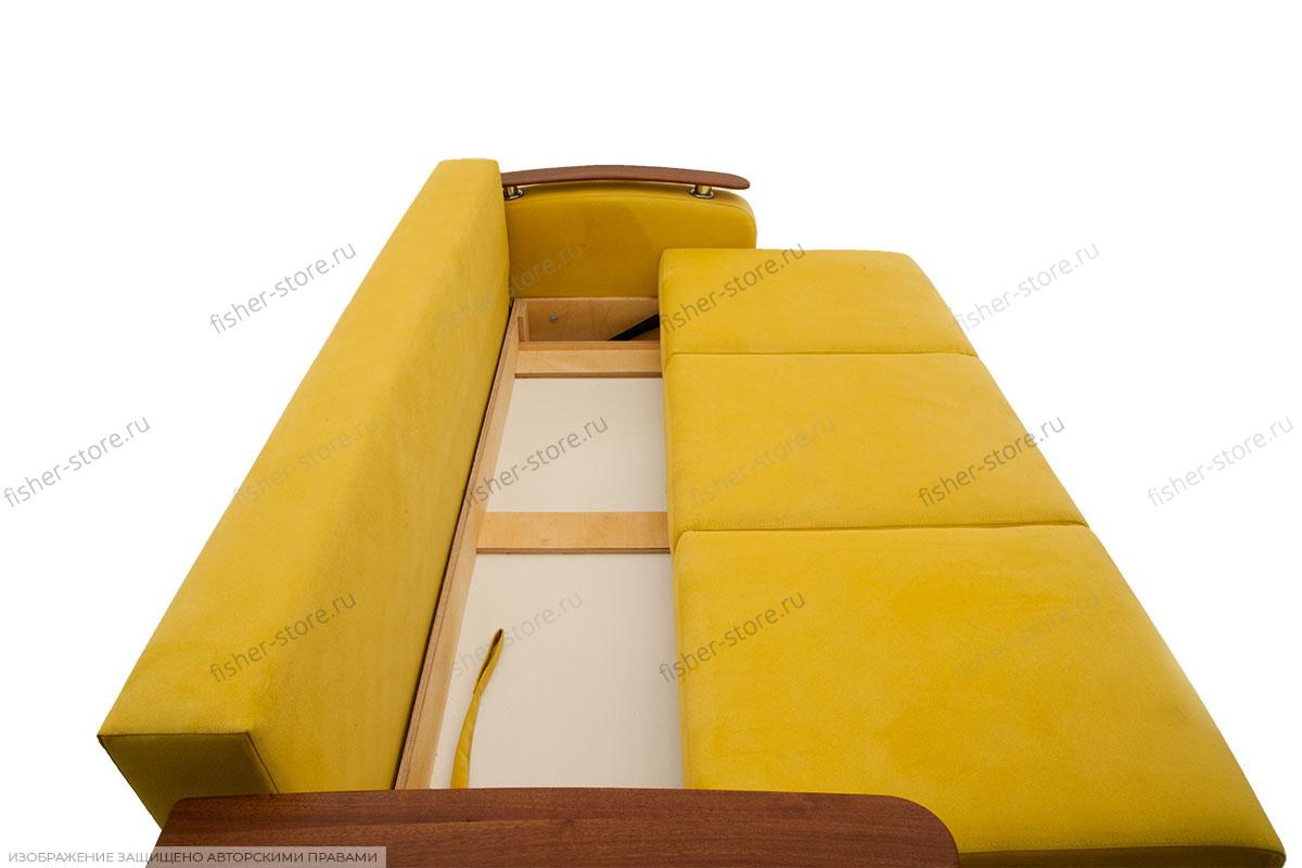 Прямой диван Джерси-3 с опорой №6 Ящик для белья