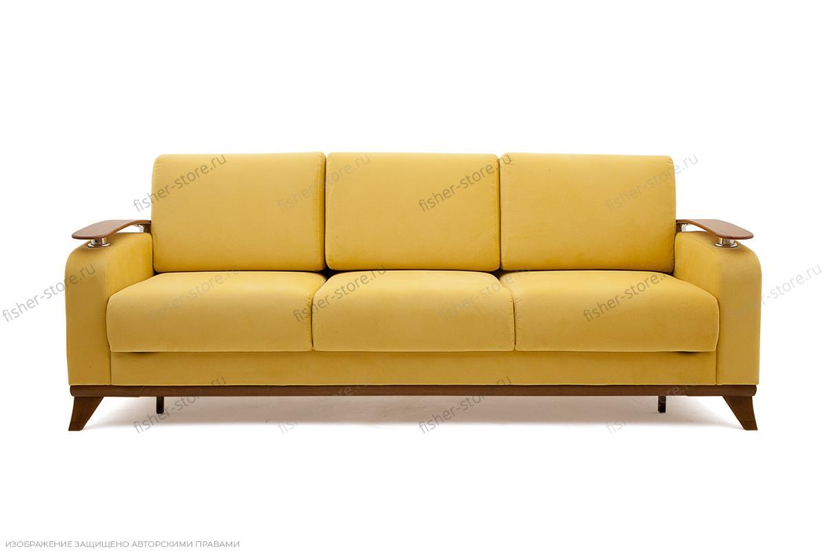 Прямой диван Джерси-3 с опорой №6 Вид спереди