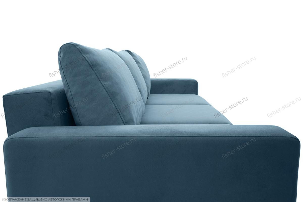 Прямой диван Джерси-2 с опорой №6 Подушки