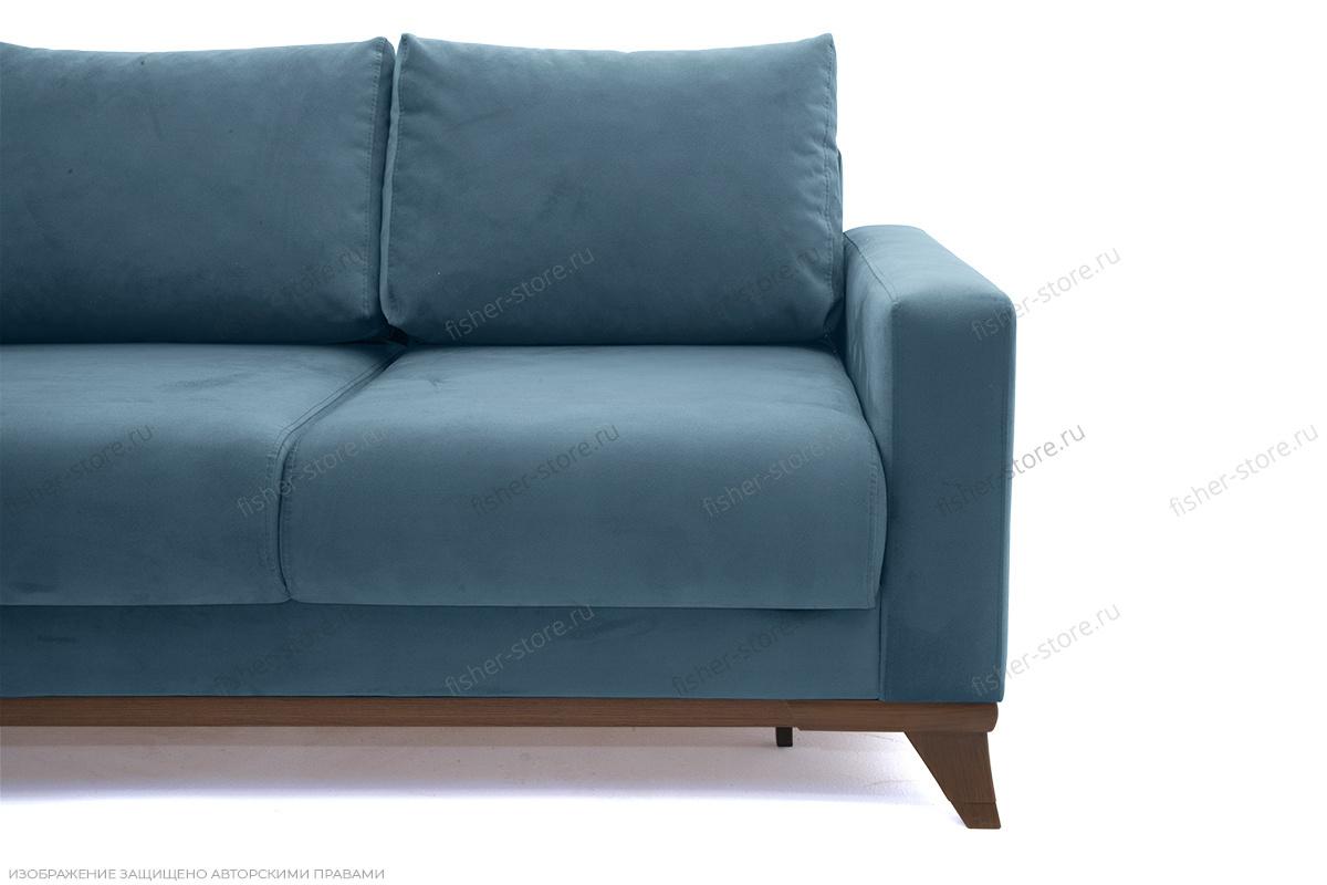 Прямой диван Джерси-2 с опорой №6 Ножки