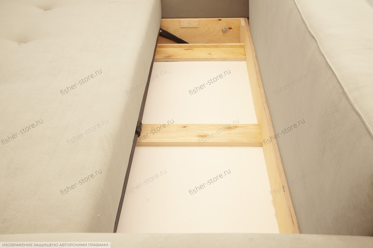 Офисный диван Джерси-4 с опорой №9 Ящик для белья