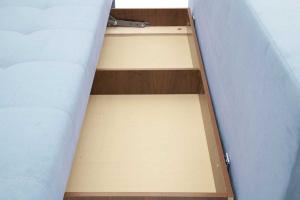 Прямой диван кровать Фокс Ящик для белья