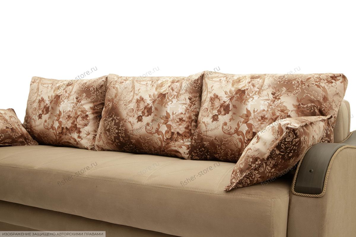 Прямой диван еврокнижка Варшава люкс Подушки