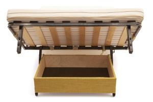 Прямой диван Флора (120) Ящик для белья