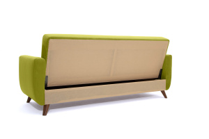 Прямой диван Оскар-2 с опорой №12 Вид сзади