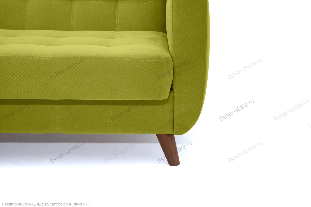 Прямой диван Оскар-2 с опорой №12 Ножки