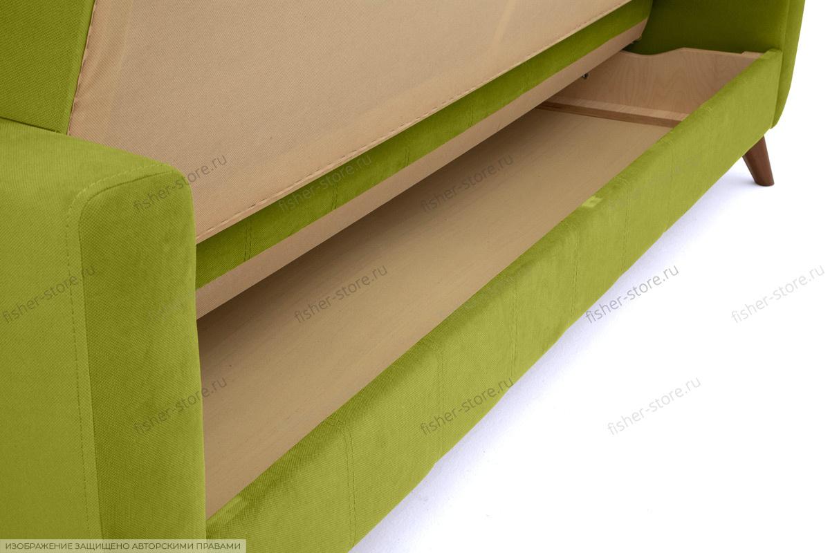 Прямой диван Оскар-2 с опорой №12 Ящик для белья