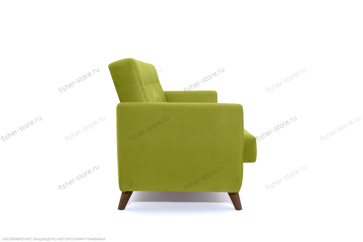 Прямой диван Оскар-2 с опорой №12 Вид сбоку