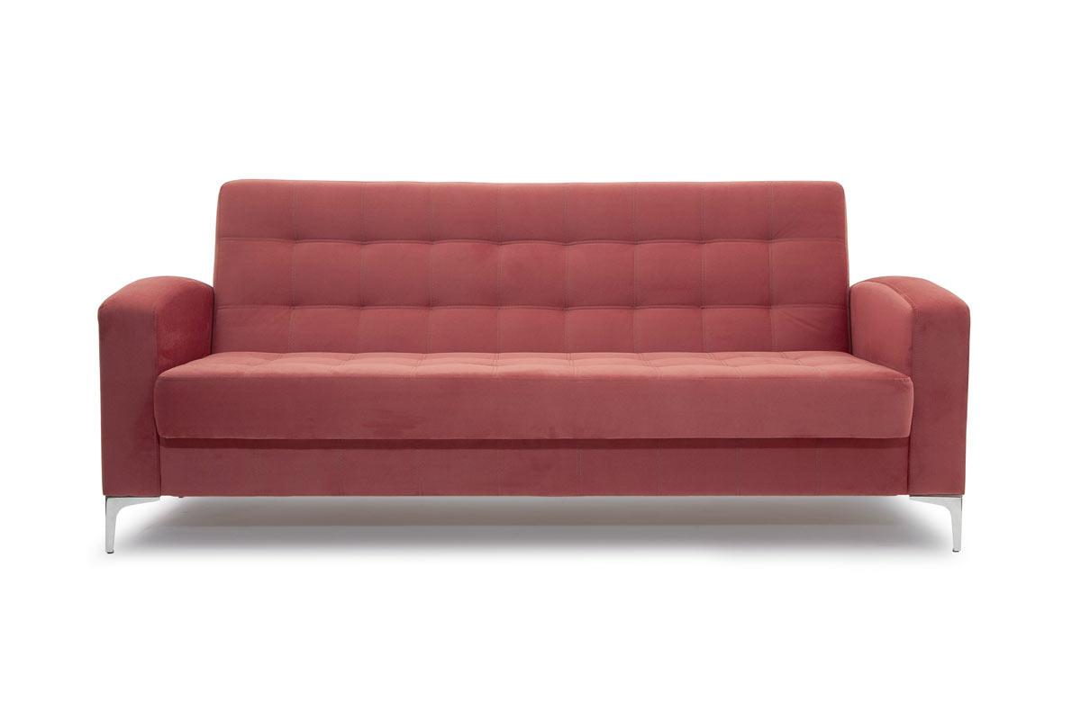 Прямой диван кровать Оскар с опорой №9 Вид спереди