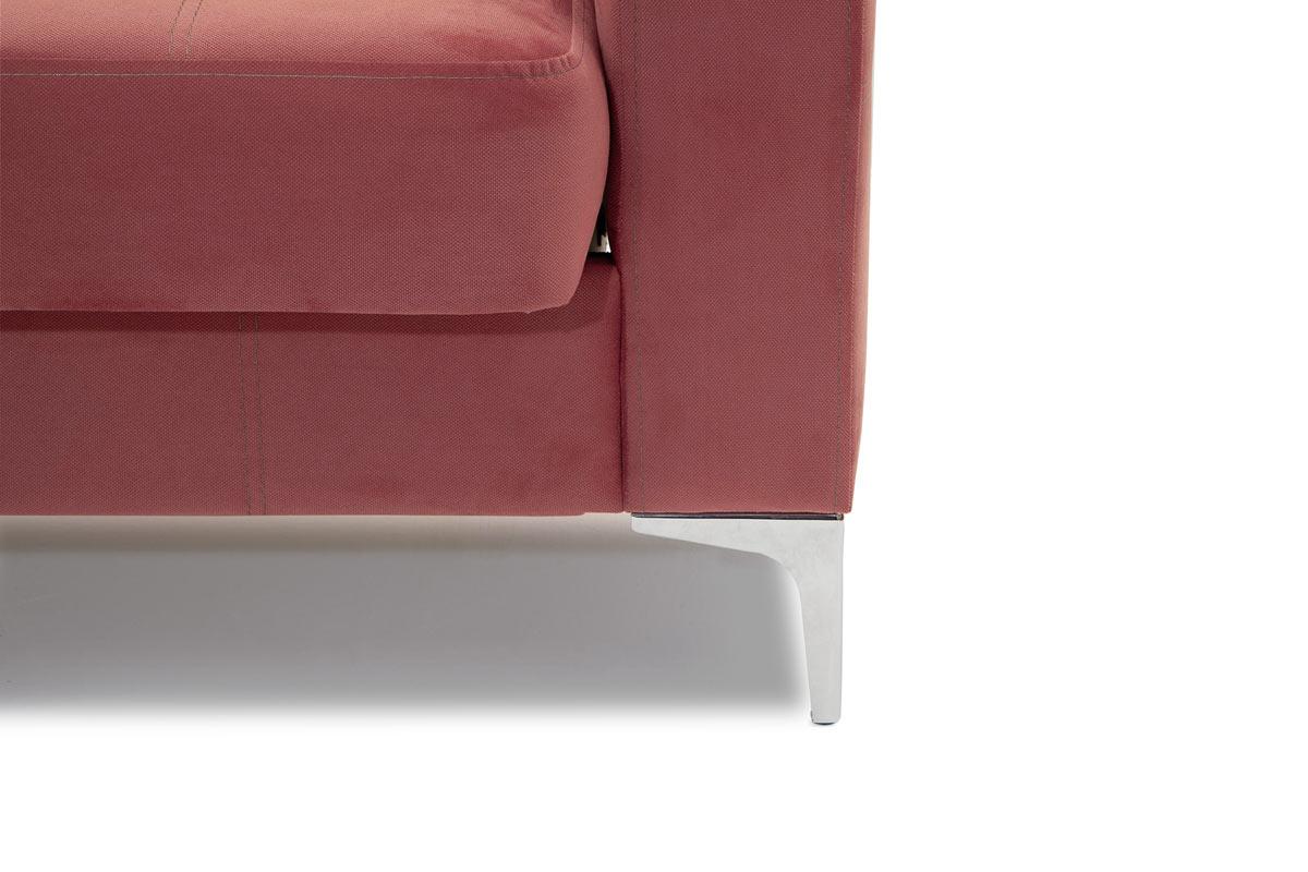Прямой диван кровать Оскар с опорой №9 Ножки
