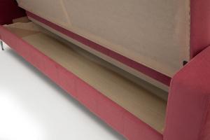 Прямой диван кровать Оскар с опорой №9 Ящик для белья