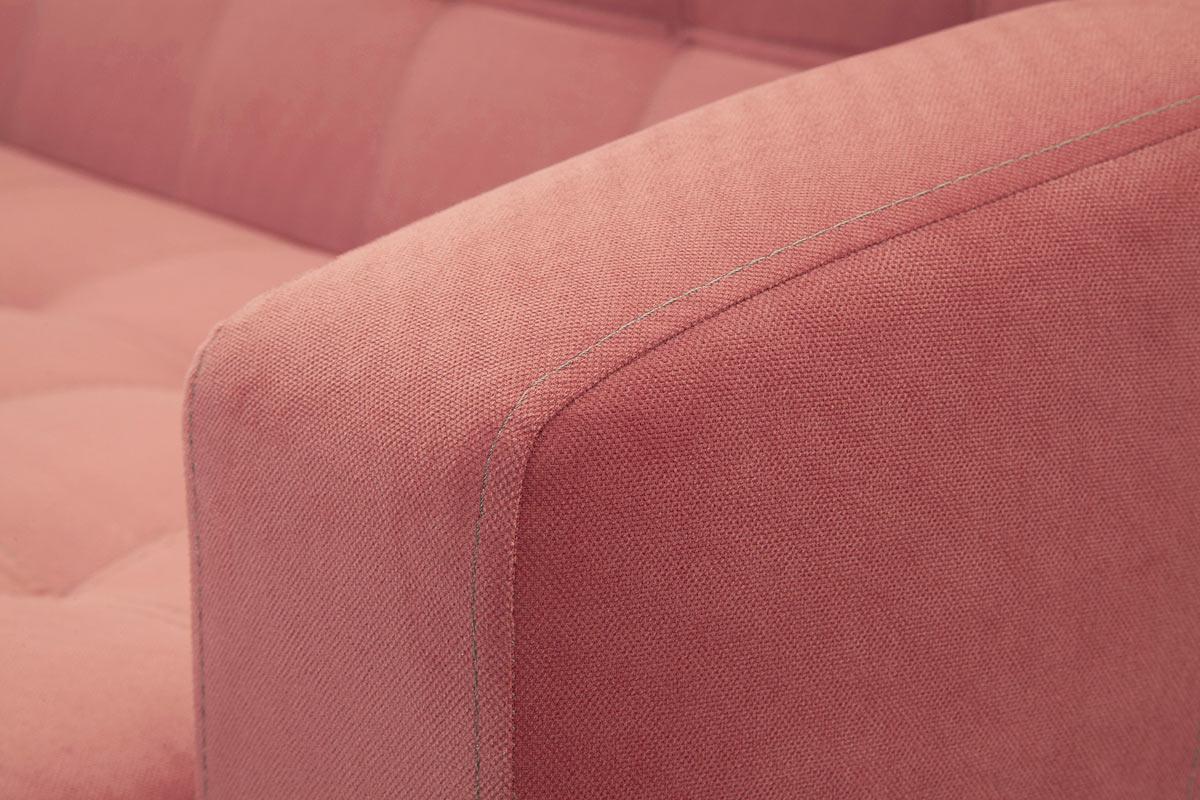 Прямой диван кровать Оскар с опорой №9 Текстура ткани